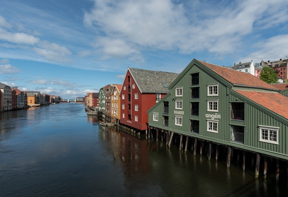 Buildings in Trondheim